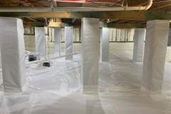 Crawl Space Encapsulation Spray Foam