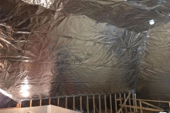 Radiant Barrier on Walls and Ceilings