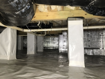 Crawl Space Encapsulation CrawlBarrier