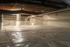 Crawl Space Encapsulation Spray Foam