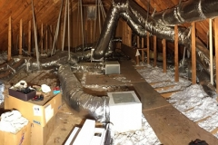 Radiant Barrier On Attic Floor and Interior Facing Walls