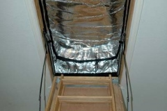 Radiant Barrier Hatch For Attic Entrance